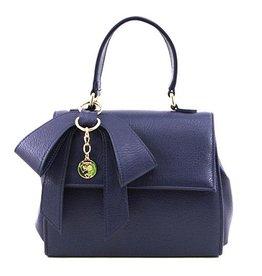 Gunas Cottontail Handbag: Navy