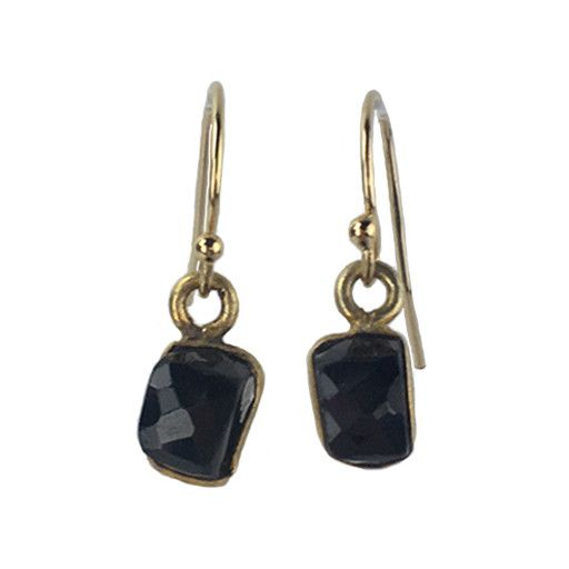 Avindy Avindy Onyx Cube Earrings