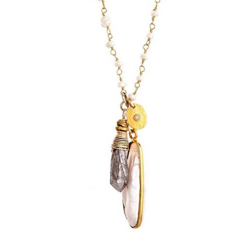 Avindy Avindy Cascading Trio Necklace