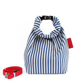 Toute Toute Lunch Bag: Blue Stripes