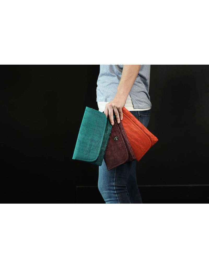 Smateria Smateria Travel Wallet: Teal
