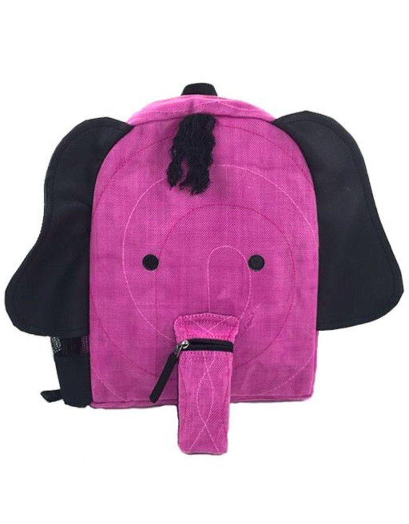 Smateria Smateria Backpack: Pink Elephant