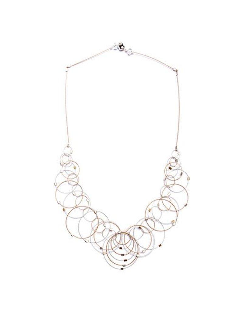 Meghan Patrice Riley Meghan Patrice Riley Necklace: Dew, Silver & Gold