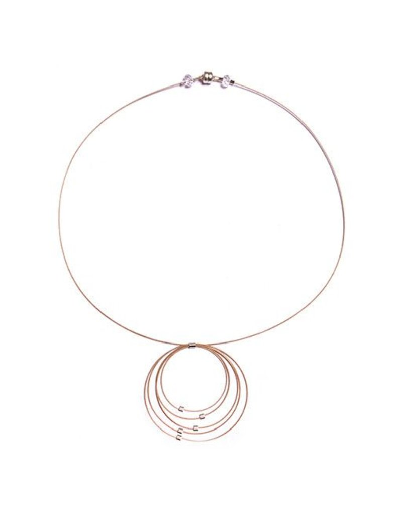 Meghan Patrice Riley Meghan Patrice Riley Necklace: Graduated Circles, Gold