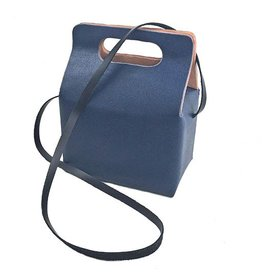 Carol Risley Carol Risley Box Bag: Navy
