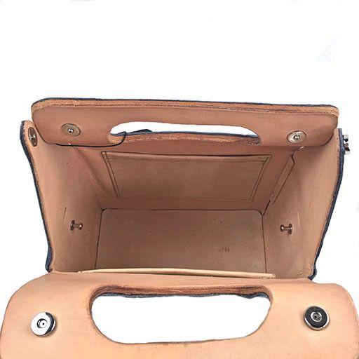 Carol Risley Carol Risley Box Bag: Navy