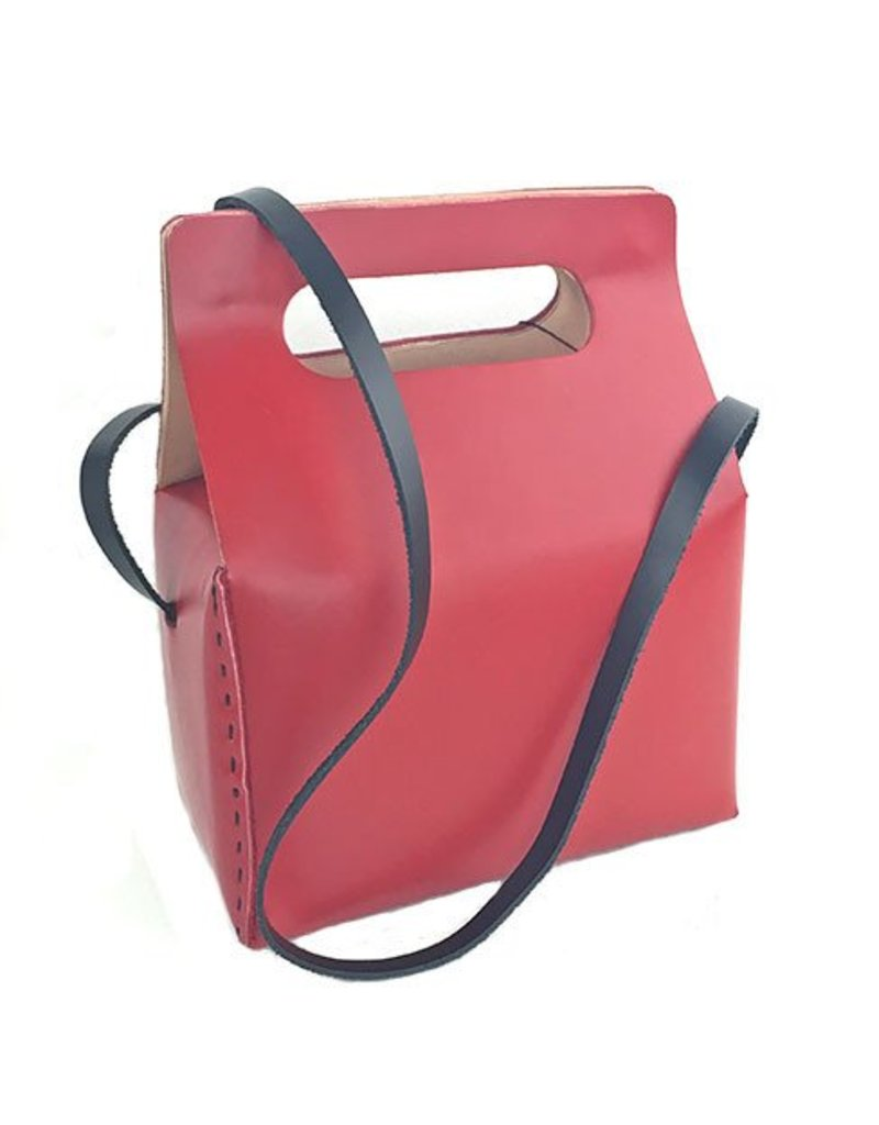Carol Risley Carol Risley Box Bag: Red