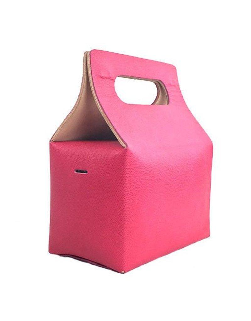 Carol Risley Carol Risley Box Bag: Pink