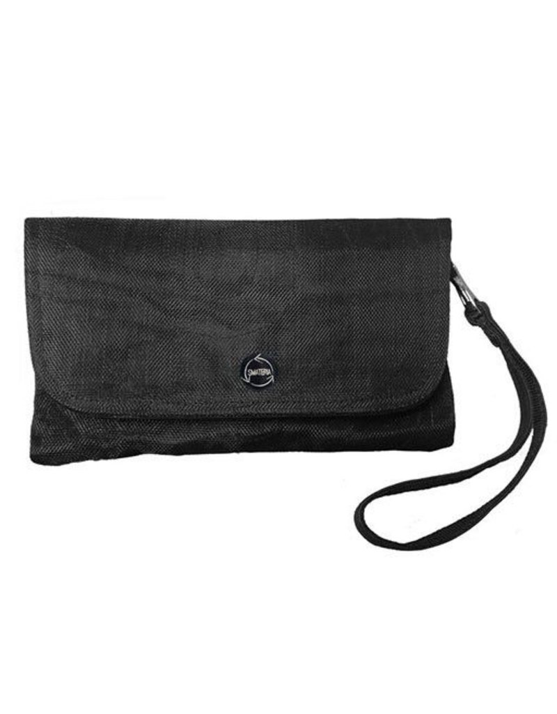 Smateria Smateria Travel Wallet: Black