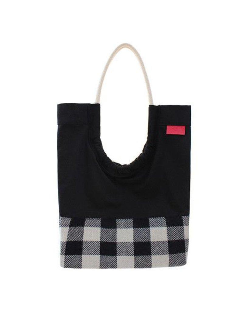Toute Toute Tote Bag: Plaid