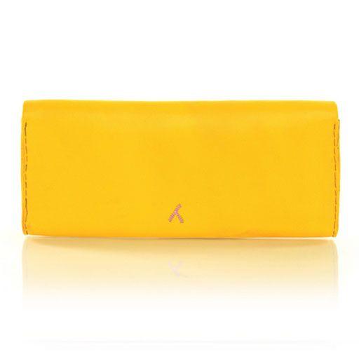 Abury Abury Berber Clutch: Yellow