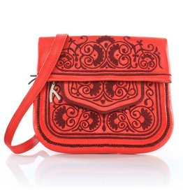 Abury Abury Berber Bag: Red