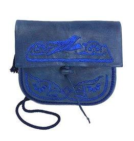 Abury Abury Petite Berber Bag: Blue