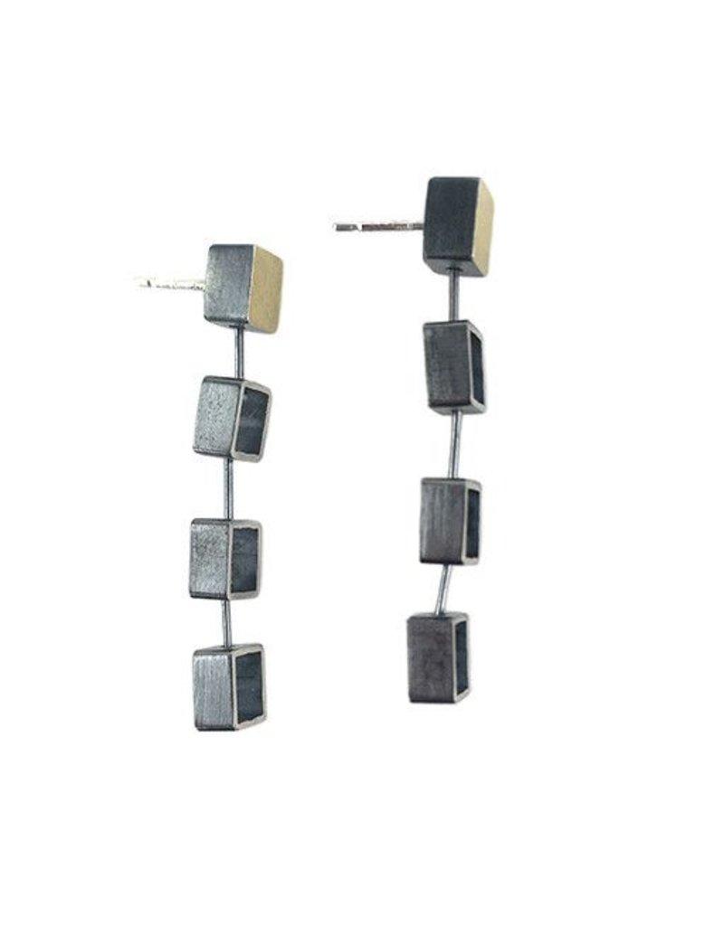 Ashka Dymel Ashka Dymel Earrings: Mini Squares