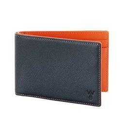 Wurkin Stiffs Wurkin Stiffs RFID Slim Wallet: Orange