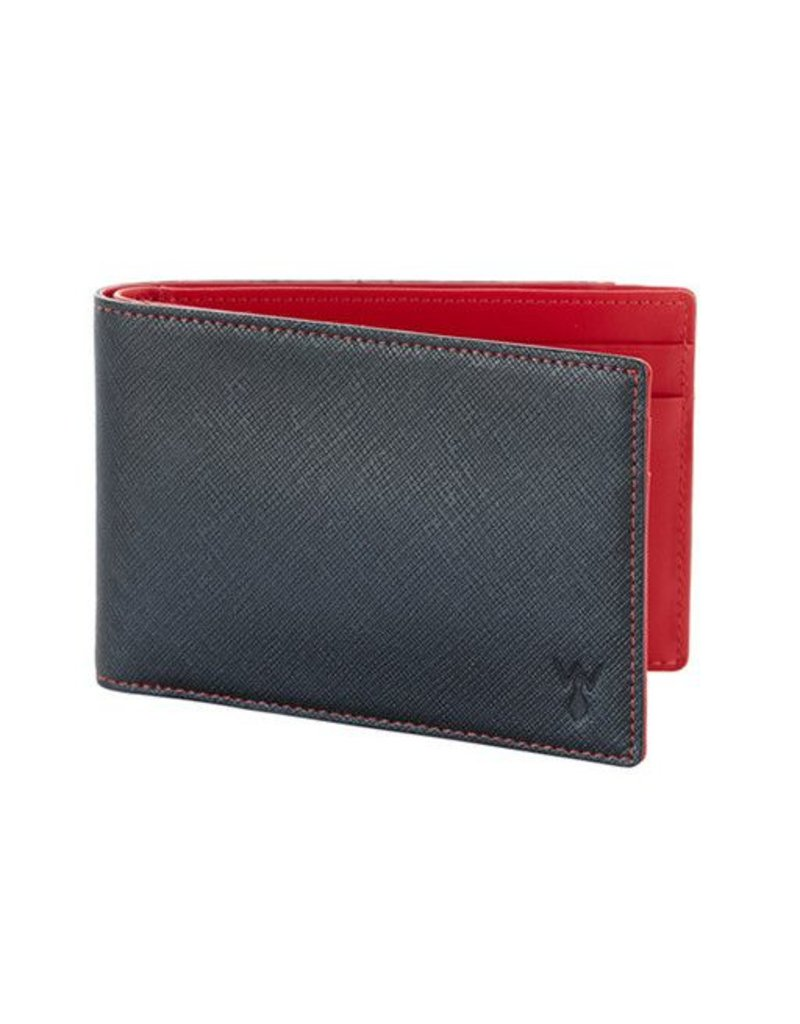Wurkin Stiffs Wurkin Stiffs RFID Slim Wallet: Red