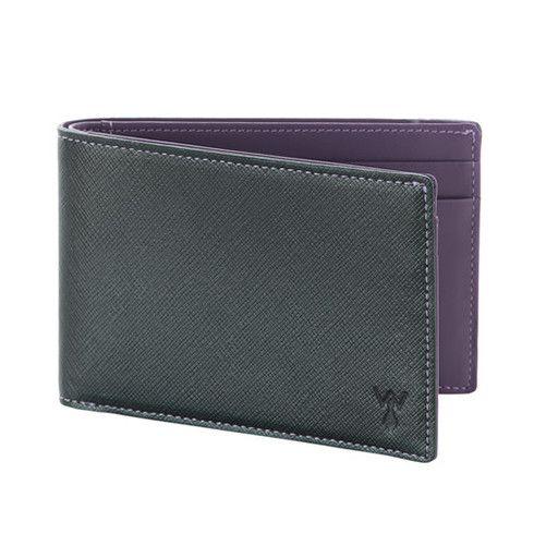 Wurkin Stiffs Wurkin Stiffs RFID Slim Wallet: Purple