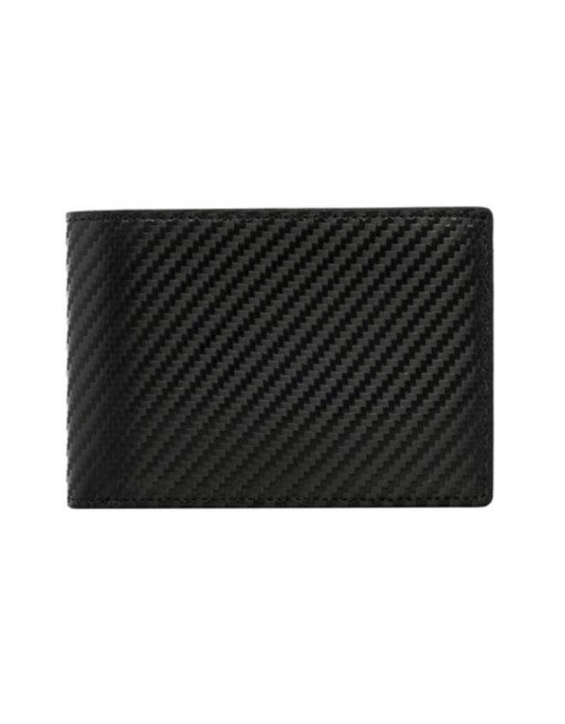 Wurkin Stiffs Wurkin Stiffs RFID Carbon Slim Wallet: Black