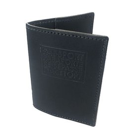 W Durable Goods W Durable Goods Passport Cover: Black