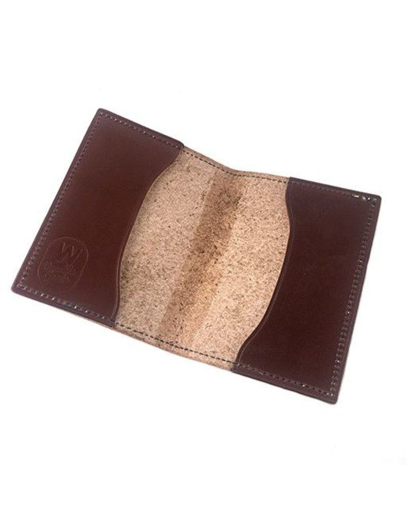 W Durable Goods W Durable Goods Passport Cover: Brown