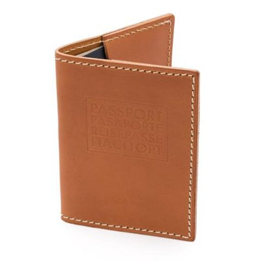 W Durable Goods W Durable Goods Passport Cover: Tan