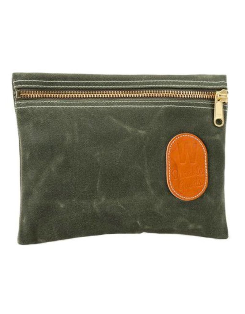 W Durable Goods W Durable Goods Zipper Bag: Olive