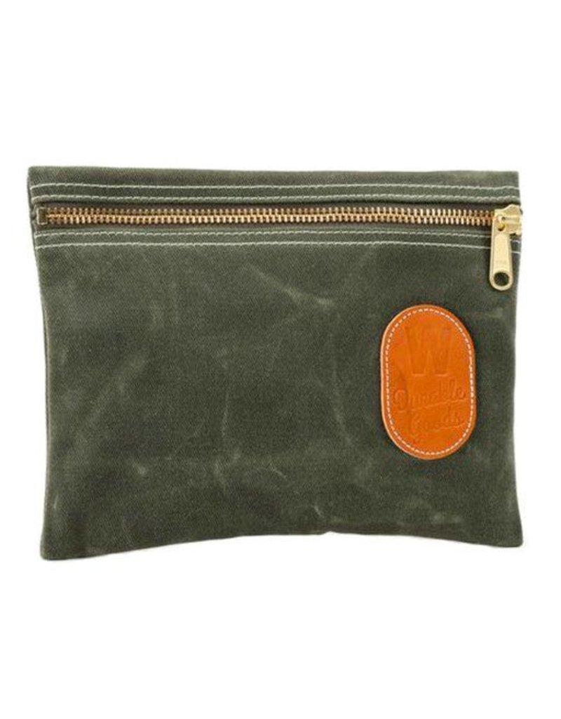 W Durable Goods W Durable Goods Zipper Bag: Olive