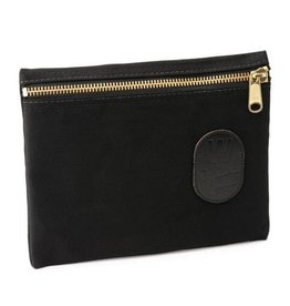 W Durable Goods W Durable Goods Zipper Bag: Black