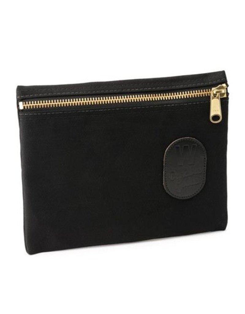 W Durable Goods W Durable Goods Zipper Bag: Black