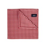 Wurkin Stiffs Wurkin Stiffs Pocket Square: Red Check