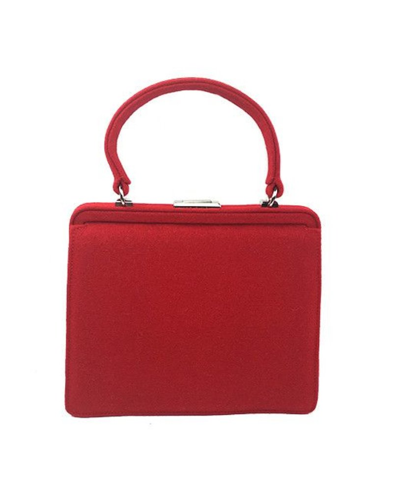 Burel Factory Burel Magda 50s Bag: Red