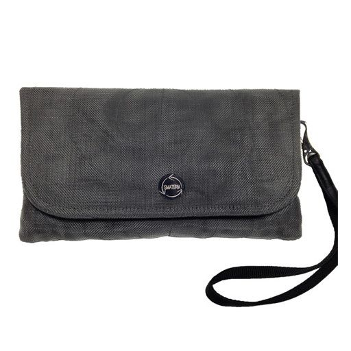 Smateria Smateria Travel Wallet: Charcoal