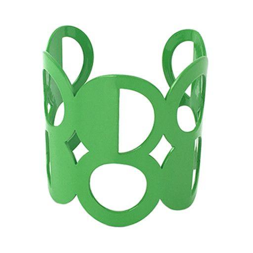 Stubborn Stiles Stubborn Stiles Dot Bracelet: Green