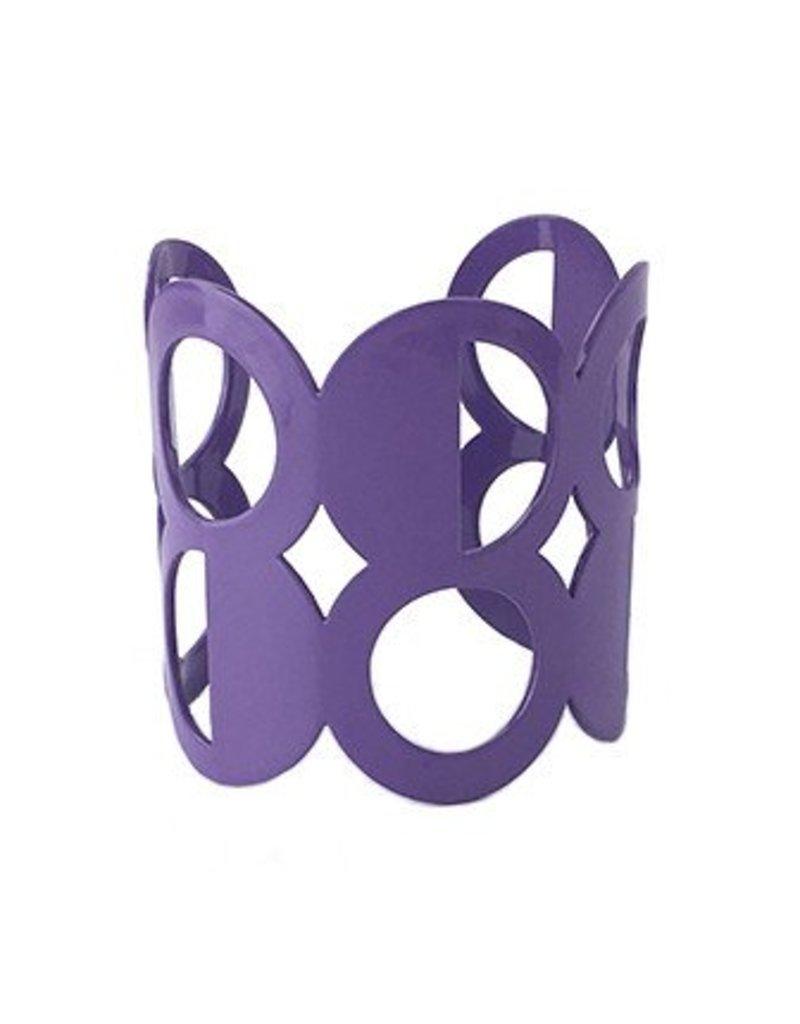 Stubborn Stiles Stubborn Stiles Dot Bracelet: Purple