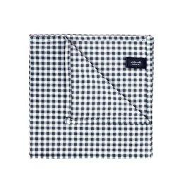 Wurkin Stiffs Wurkin Stiffs Pocket Square: Gray Check
