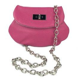 Anya Sushko Anya Sushko Heart Crossbody: Pink