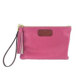 Anya Sushko Anya Sushko Mini Berry Wristlet: Pink