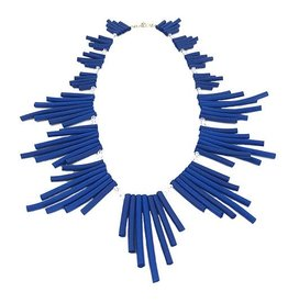 NEO Design Necklace #77: Electric Blue