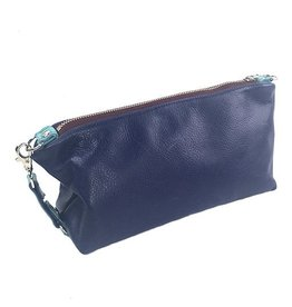 Lola Falk Lola Falk Otto Shaving Bag: Royal Blue