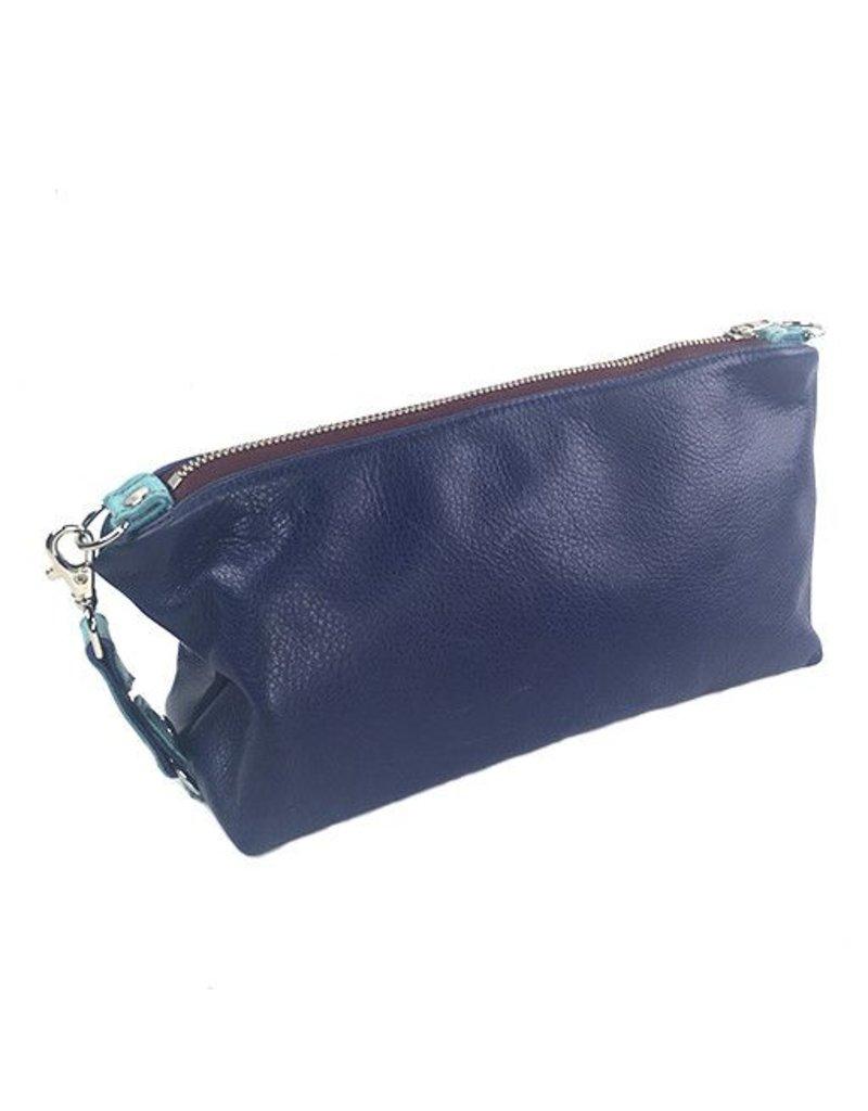 Lola Falk Lola Falk Otto Shaving Bag: Royal Blue