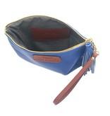 Anya Sushko Anya Sushko Mini Berry Wristlet: Blue