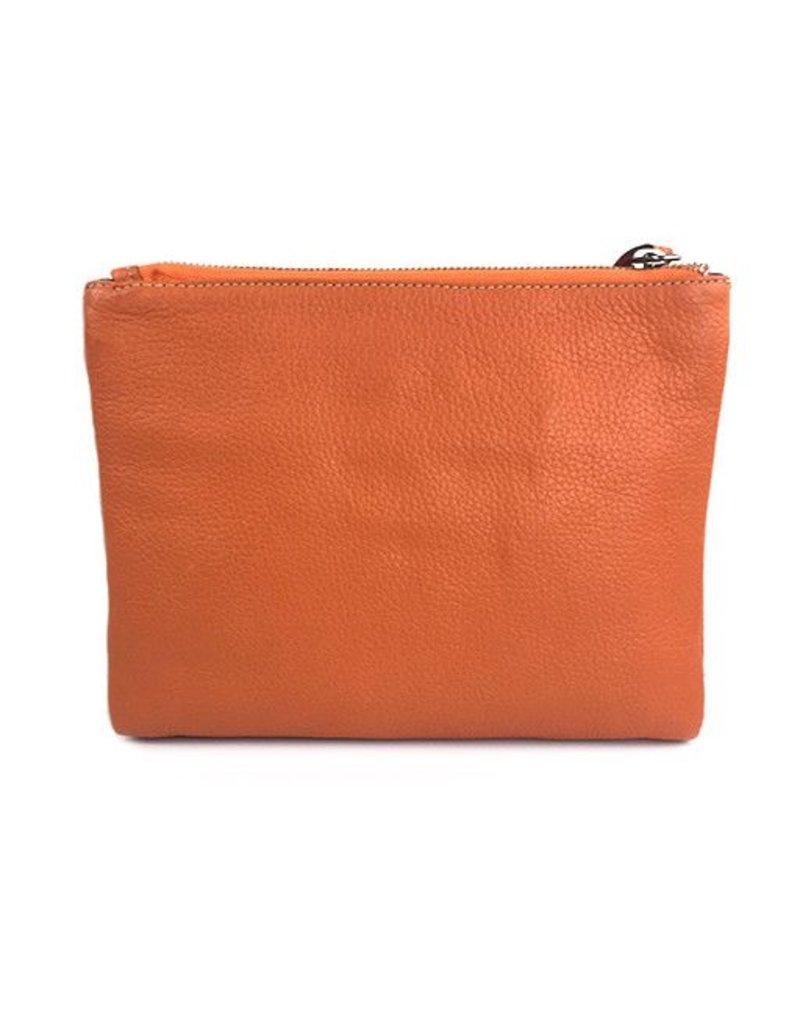 Modus Rio Modus Rio Tasseled Clutch: Orange