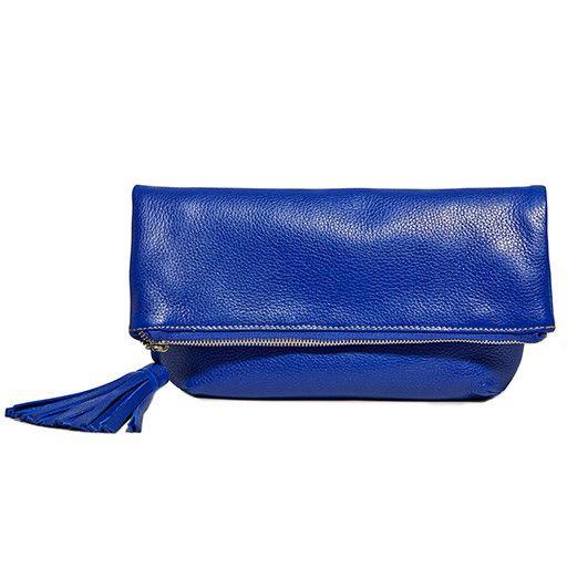 Modus Rio Modus Rio Foldover Clutch: Blue