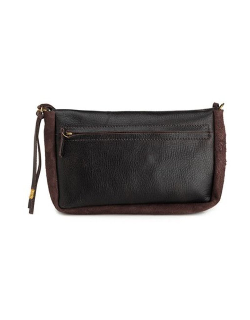 Jo Jo Ellyn Mini Clutch: Espresso Black