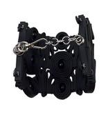 Klamir Klamir Wide Bracelet: Black