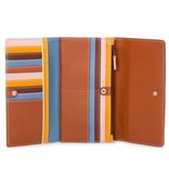 Mywalit Mywalit Large Flapover Wallet with Back Zip: Siena