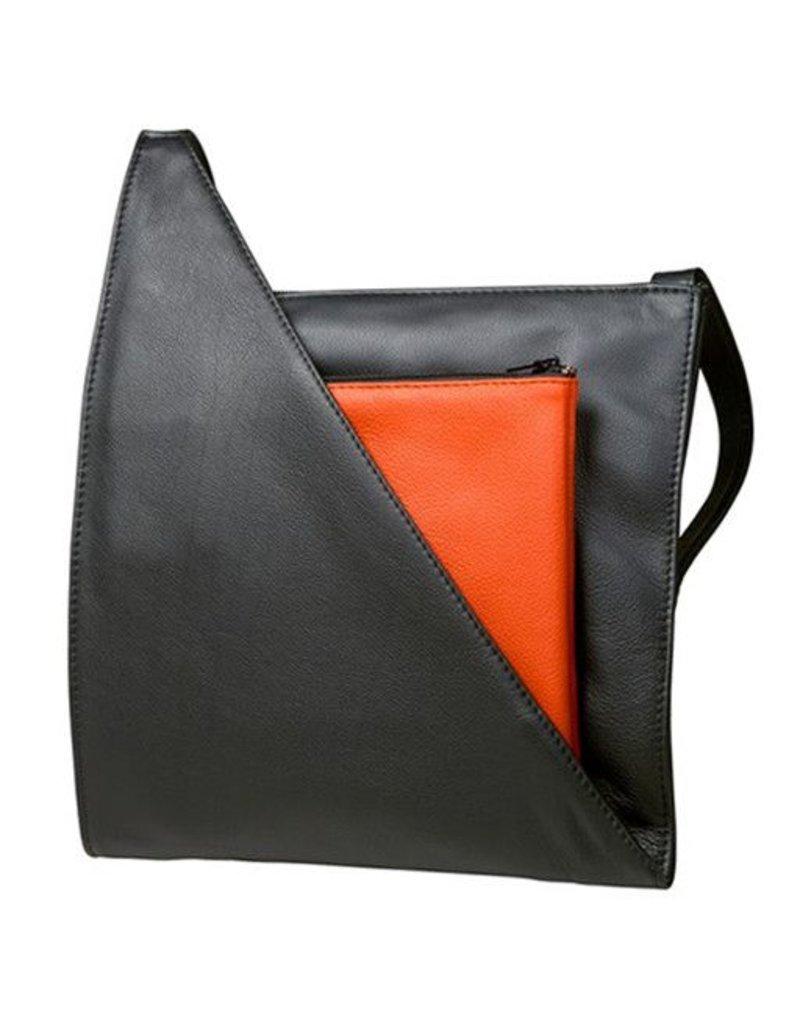 Olbrish Olbrish Genua, Large: Black & Orange