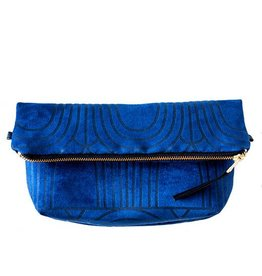 Lee Coren Lee Coren Everything Crossbody Clutch: Blue Arches