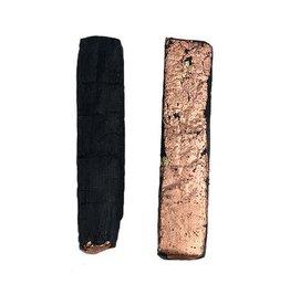 Morgan Hill Morgan Hill Scorched Wood Posts: Copper