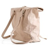 Lee Coren Lee Coren Wanderlust Roll Top Backpack: Nude